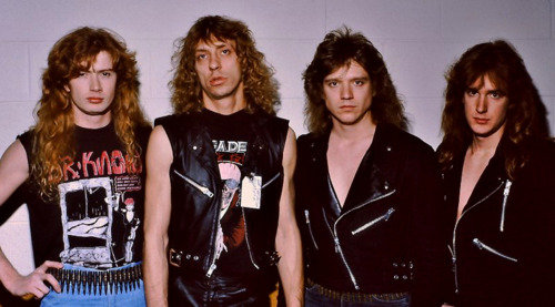 Megadeth early band