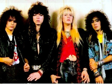 L To R: Fred Coury, Tom Keifer, Eric Brittingham and Jeff LaBar